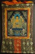 ◆仏陀/釈迦牟尼仏 タンカ/仏画/チベット-1