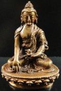 ◆仏陀/釈迦牟尼仏像◆仏教 チベット アンティーク風-SA