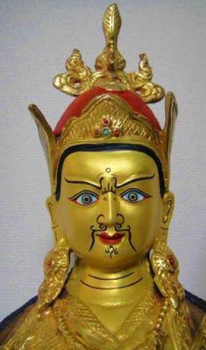 画像2: パドマサンババ(グル・リンポチェ)像◆仏教 チベット ネパール