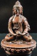 ◆無量光如来(あみだにょらい/アミターバ)像◆仏教 チベットアンティーク風-SA