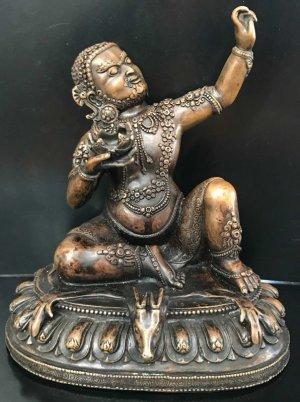 画像1: ◆ヴィルーパ像◆仏教 チベット-A