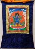 ◆ヴァジュラ・パーニ(金剛手)タンカ/仏画/曼荼羅/チベット