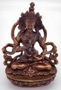 ◆ヴァジュラサットヴァ(金剛さった)像◆仏教 チベット ◆アンティーク風-AZ