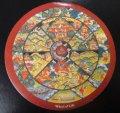 ◆六道輪廻図(Wheel of Life)チベット密教曼陀羅ステッカー 2 ■ ■