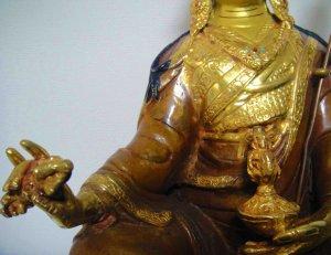 画像3: パドマサンババ(グル・リンポチェ)像◆仏教 チベット ネパール