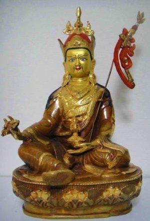 画像1: パドマサンババ(グル・リンポチェ)像◆仏教 チベット ネパール